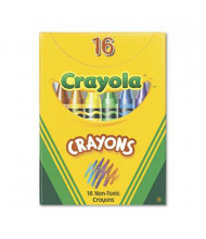 Crayola Classic Color Pack Crayons, Tuck Box, 16-Colors
