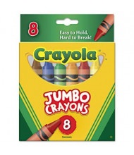 Crayola So Big Crayons, 8-Colors
