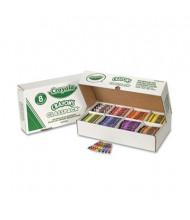 Crayola Classpack Regular Crayons, 8-Colors, 800-Crayons