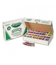 Crayola Classpack Regular Crayons, 16-Colors, 800-Crayons