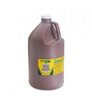 Crayola 1-Gallon Washable Paint Bottle, Brown