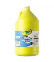 Crayola 1-Gallon Washable Paint Bottle, Yellow