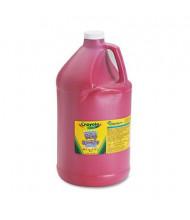 Crayola 1-Gallon Washable Paint Bottle, Red