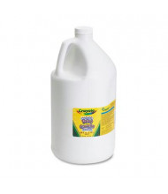 Crayola 1-Gallon Washable Paint Bottle, White