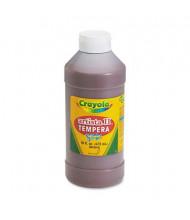 Crayola Artista II 16 oz Washable Tempera Paint, Brown