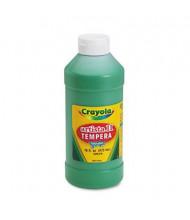 Crayola Artista II 16 oz Washable Tempera Paint, Green
