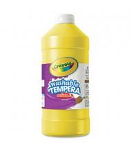 Crayola Artista II 32 oz Washable Tempera Paint, Yellow