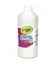 Crayola Artista II 32 oz Washable Tempera Paint, White