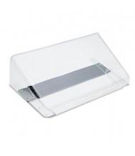 Deflect-o DocuPocket 1-Pocket Letter Magnetic Wall File Pocket, Clear