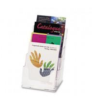 Deflect-o 4-Section DocuHolder Booklet Holder, Clear