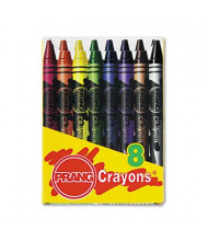 Prang Crayons Made with Soy, 8-Colors