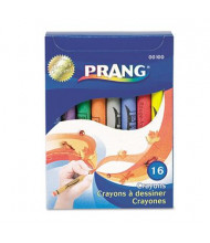 Prang Crayons Made with Soy, 16-Colors