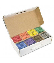 Prang Crayons Made with Soy, 8-Colors, 800-Crayons