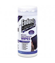 Endust for Electronics Anti-Static Tablet Computer Wipes Can, 70 Wipes