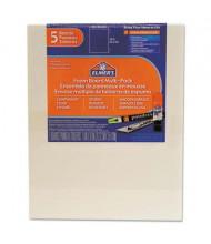 "Elmer's Pre-Cut 8"" x 10"" 5-Pack White Foam Board Sheets"