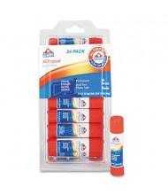 Elmer's .21 oz All-Purpose Permanent Glue Sticks, 24/Pack
