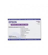 "Epson 11"" X 17"", 68lb, 20-Sheets, High-Gloss Photo Paper"