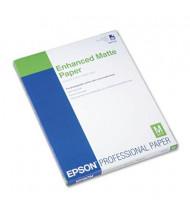 "Epson Ultra Premium 8-1/2"" X 11"", 10 mil, 50-Sheets, Matte Presentation Paper"