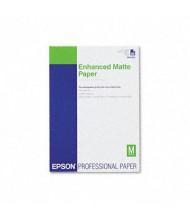 "Epson Ultra Premium 11-3/4"" X 16-1/2"", 10 mil, 50-Sheets, Matte Presentation Paper"