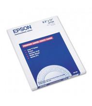 "Epson Ultra Premium 8-1/2"" X 11"", 64lb, 50-Sheets, Luster Photo Paper"