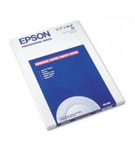 "Epson Ultra Premium 11-3/4"" X 16-1/2"", 64lb, 50-Sheets, Luster Photo Paper"