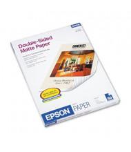 "Epson Premium 8-1/2"" X 11"", 45lb, 50-Sheets, Double-Sided Matte Presentation Paper"