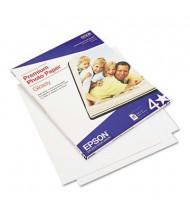 "Epson 8-1/2"" x 11"", 68lb, 25-Sheets, High-Gloss Premium Photo Paper"