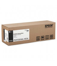 """Epson Exhibition 17"""" X 40 Ft., 22 mil, Glossy Canvas Paper Roll"""