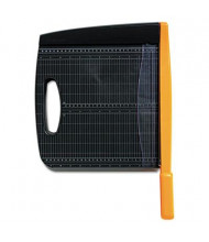"""Fiskars 12"""" Cut Recycled Bypass Guillotine Paper Trimmer"""