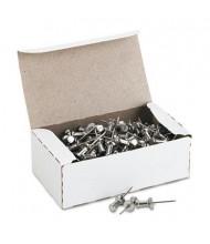 """GEM 5/8"""" Head Aluminum Push Pins, 100/Box"""