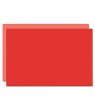 """Geographics Eco Brites 20"""" x 30"""" 5-Pack Light Red/Red Too Cool Foam Board"""