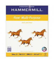 "Hammermill Fore 8-1/2"" x 11"", 24lb, 5000-Sheets, Multipurpose Copy Paper"