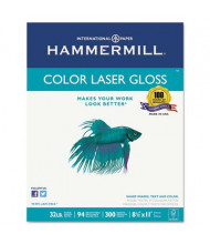 "Hammermill 8-1/2"" X 11"", 32lb, 300-Sheets, Color Gloss Laser Paper"