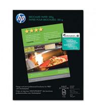 "HP 8-1/2"" X 11"", 48lb, 50-Sheets, Glossy Brochure Paper"