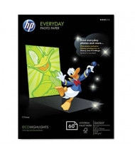 """HP Everyday 5"""" X 7"""", 53lb, 60-Sheets, Glossy Photo Paper"""