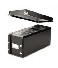 Snap-N-Store 60-Capacity Media Storage Box, Black