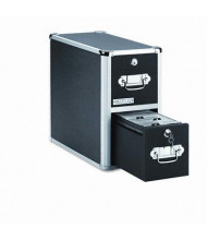 Vaultz 300-Capacity Two-Drawer CD File Cabinet