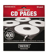 Vaultz 50-Pack Two-Sided CD Refill Pages