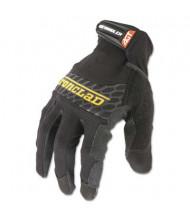 Ironclad Medium Box Handler Gloves, Black