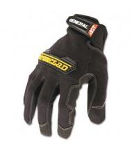 Ironclad Large General Utility Spandex Gloves, Black