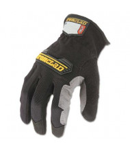 Ironclad Workforce Medium All-Purpose Gloves, Gray/Black