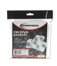 Innovera 25-Pack CD & DVD Pockets