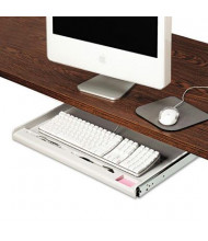 "Innovera 15"" Track Standard Under-Desk Keyboard Drawer, Light Gray"
