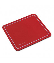 "Kelly Computer Supply 9"" x 7-3/4"" SRV Optical Mouse Pad, Red"
