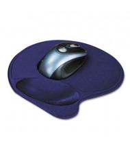 "Kensington 7-9/10"" x 10-9/10"" Wrist Pillow Extra-Cushioned Mouse Pad, Blue"