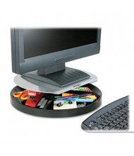 """Kensington 2-1/4"""" to 3-1/4"""" H Spin2 Monitor Stand with SmartFit, Black"""