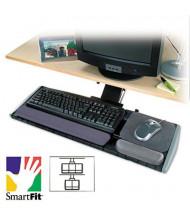 """Kensington 21"""" Track Long Neck Keyboard Platform with SmartFit, Black"""