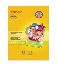 "Kodak 8-1/2"" X 11"", 6.5 Mil, 25-Sheets, Glossy Photo Paper"