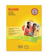 """Kodak 8-1/2"""" x 11"""", 39lb, 100-Sheets, Matte Photo Paper"""