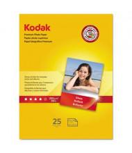 "Kodak 8-1/2"" X 11"", 8.5 Mil, 25-Sheets, Glossy Photo Paper"